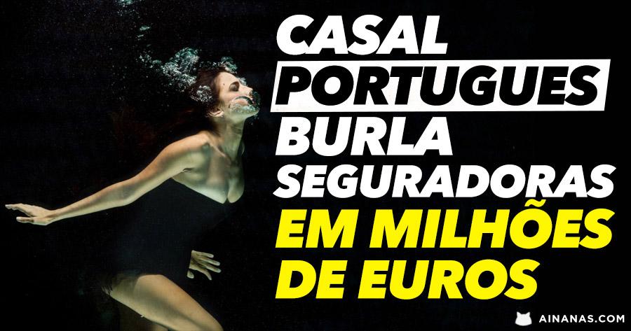 Casal português burlou seguradoras em MILHÕES DE EUROS com falsas mortes