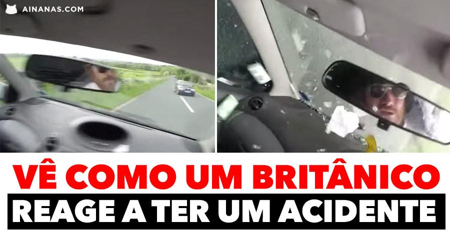 Como um BRITÂNICO reage a um acidente de carro