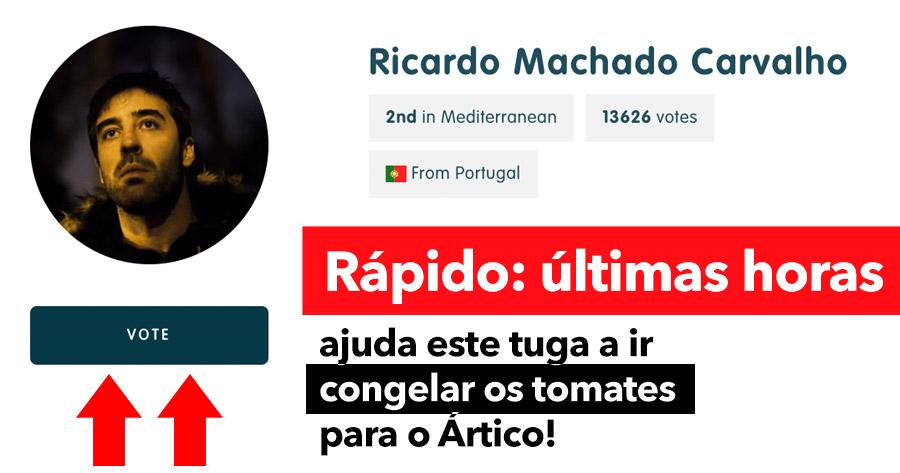 Ajuda o Ricardo a ir CONGELAR OS TOMATES