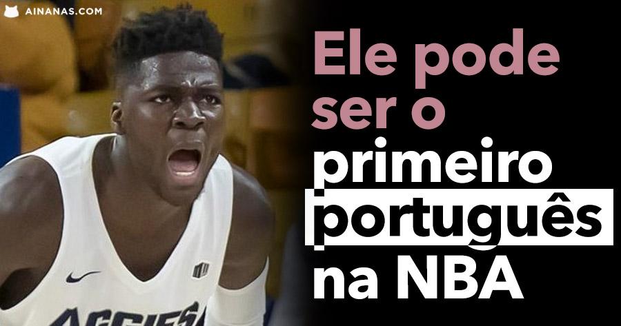 Ele pode ser o PRIMEIRO PORTUGUÊS a Jogar na NBA