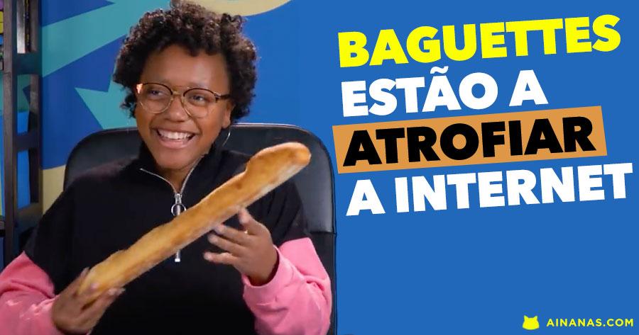 Baguettes estão a atrofiar a Internet. Vê porquê