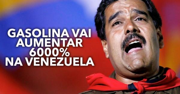 Venezuela Aumenta 6000% o Preço da Gasolina