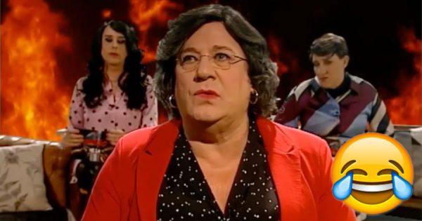 HERMAN JOSÉ faz imitação genial de Ana Gomes