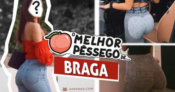 Este é o MELHOR PÊSSEGO de Braga