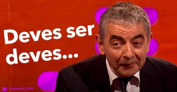 Quando NÃO ACREDITARAM que ele era o verdadeiro Mr. Bean