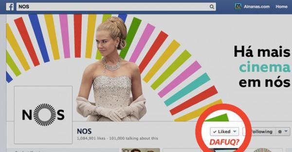 "Nova Marca ""NOS"" Gera Onda de Revolta no Facebook"