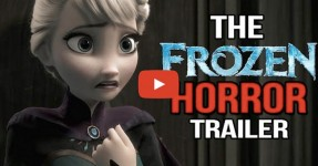 Se FROZEN da Disney fosse um Filme de Terror