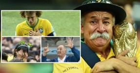 Brasileiros não perdoam Falhanço da Sua Seleção