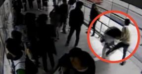 Ladrão Tenta Fugir e é Atropelado por Autocarro