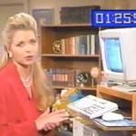 ANOS 90: ela explica o que é um computador