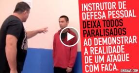 Instrutor de DEFESA PESSOAL Prega Susto Épico