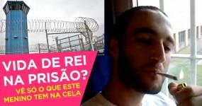 Prisioneiro Mostra a Vida de Lorde que tem Atrás das Grades