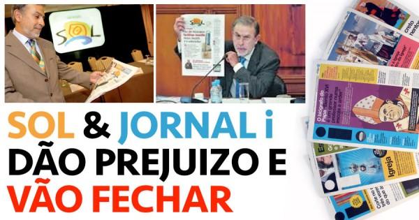 Jornal I e SOL vão fechar