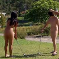 Abriu Campo de Golfe para Nudistas no Brasil
