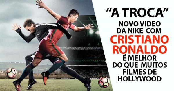 CRISTIANO RONALDO em Grande no Novo MEGA ANÚNCIO da Nike