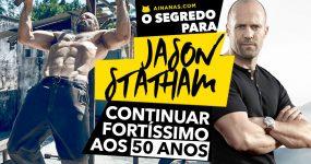 JASON STATHAM revela como continua uma MÁQUINA aos 50 anos