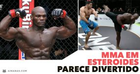 MMA ON STEROIDS? Parece divertido!