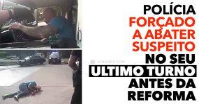 Polícia enfrenta cena louca no seu ULTIMO TURNO antes da reforma