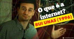 RUI UNAS explicava o que era a Internet… em 1996