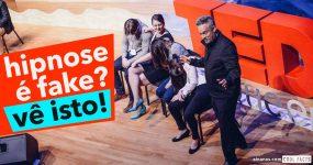 HIPNOSE é treta? Hipnólogo surpreende público do TEDX
