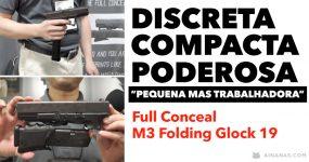 GLOCK DE BOLSO: arma de fogo fica do tamanho de smartphone