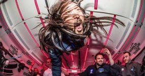 STEVE AOKI torna-se o primeiro DJ a Fazer a Festa em Gravidade Zero