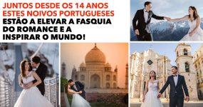 CASAL PORTUGUÊS está a elevar a fasquia do romance!