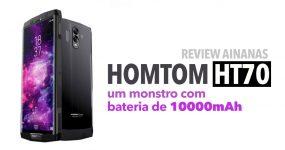 HOMTOM HT70 REVIEW: um smartphone de peso!