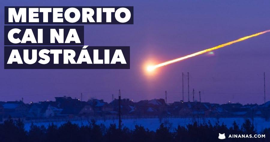 Está aberta a CAÇA AO METEORITO na Austrália