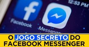 Há um JOGO SECRETO no Facebook Messenger