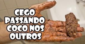 """""""Pegadinha"""" do Cego com Caganeira"""