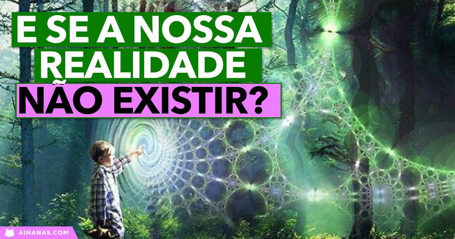 E se a nossa realidade NÃO EXISTIR?