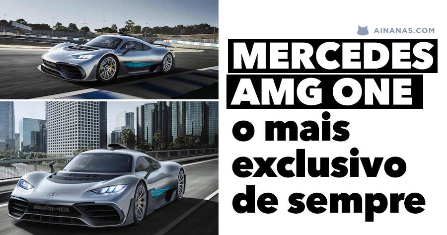 MERCEDES-AMG ONE: o mais exclusivo de sempre
