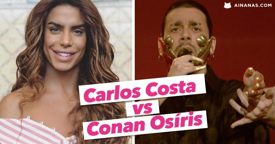 """CARLOS COSTA lança a sua versão de """"Telemóveis"""" do CONAN OSÍRIS"""