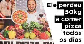 Italiano Perdeu 50kg a comer PIZZA todos os dias