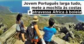 Jovem Português Larga Tudo e Atravessa ÁFRICA à Boleia