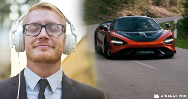 ATÉ FERVE!! McLaren 765LT