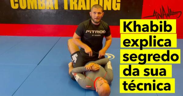 SMESHHH!! Khabib revela segredo da sua técnica