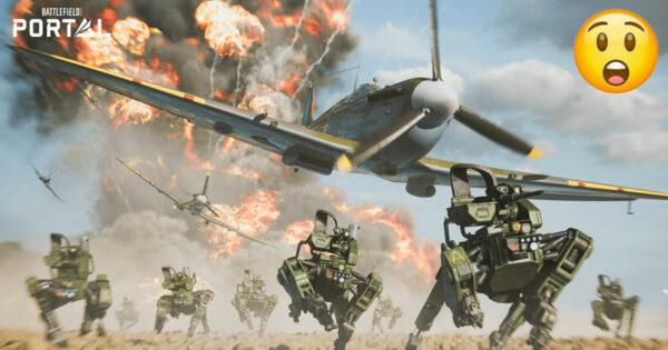 Battlefield Portal é a cena mais interessante do Battlefield 2042