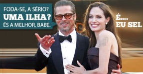 Brad Pitt fez 50 anos e ganhou uma Ilha