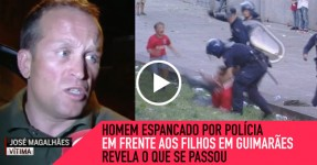 Homem Agredido em Guimarães Revela o que se Passou