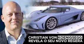 NOVO Koenigsegg Regera Apresentado pelo Próprio Christian von Koenigsegg