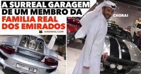 Vais-te Passar com a Garagem de um membro da FAMILIA REAL dos Emirados
