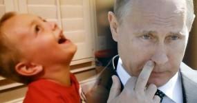 Puto não Consegue Parar de Rir de Vladimir Putin
