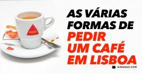 Como pedir UM CAFÉ em Lisboa