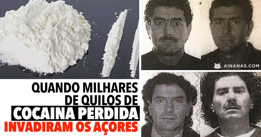 Quando MILHARES DE QUILOS de Cocaína Invadiram os Açores