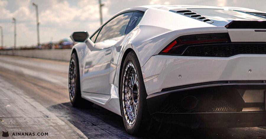 BRUTO Lamborghini de 2000 cavalos faz 400m em menos de 8s