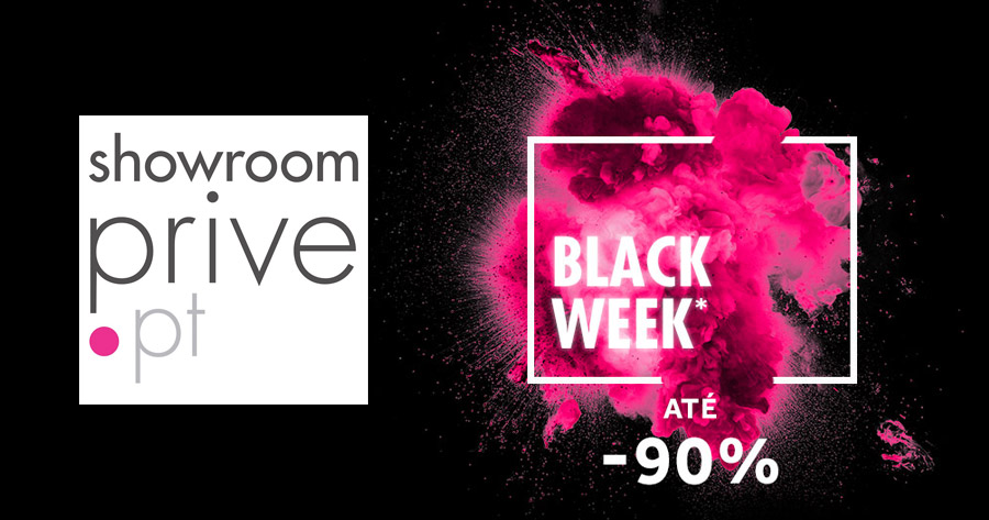 Ataca a BLACK WEEK em Showroomprive.pt