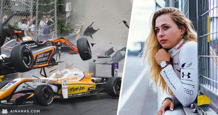 Acidentes ASSUSTADOR no GP de Macau em Formula 3