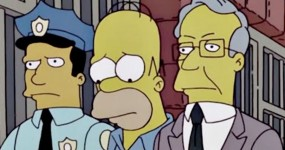 Simpsons: MAKING A MUDERER